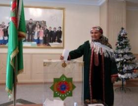 Türkmenistanda seçim sonuçları açıklandı