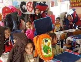 Çarşının yardımı köy okullarına ulaştı