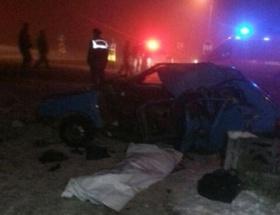 Gaziantepte kaza: 2 yaralı