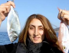 Bodrumda balık avlama yarışması