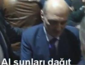 Erdoğan Bayraktar para dağıttı!