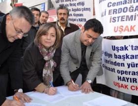 Erdoğana imza kampanyalı tepki