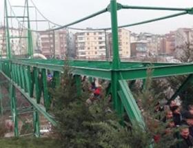 İki mahalle köprüyle birbirine bağlandı