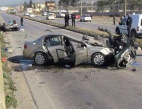 Nevşehirde trafik kazası: 2 yaralı