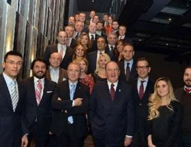 Ünal Aysal Galatasaraylı iş adamlarıyla buluştu