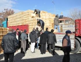Tuncelide iki bin organik kovan dağıtıldı