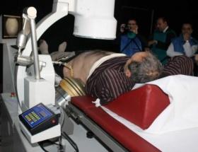 Siirt Devlet Hastanesine taş kırma cihazı alındı