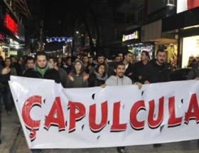 İzmitte yolsuzluk protestosu