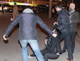 Kadın avukata yaka paça gözaltı