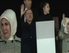 Emine Erdoğanın gözyaşları