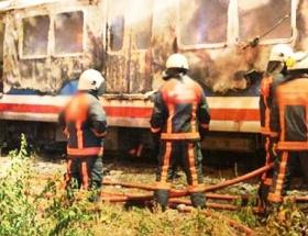 Trende yangın faciası: 23 ölü