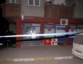 Markete ses bombalı saldırı