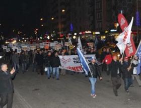 Eskişehirde tape protestosunda olaylar çıktı