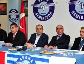 Adana Demirsporda görev bölümü