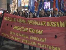 Şişlide yolsuzluk protestosu