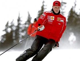 Schumacher komadan çıktı