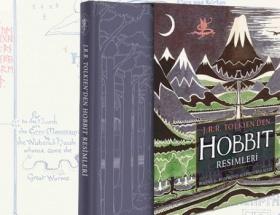 Tolkienin Hobbit resimleri ilk kez raflarda