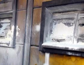ATMye molotoflu saldırı