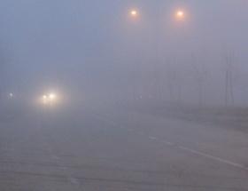 Yozgatta yoğun sis