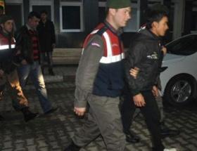 Albay ve Binbaşı kaçak kazı yaparken yakalandı