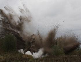 İranda büyük patlama