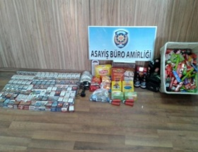 Marketlere giren 2 hırsız tutuklandı