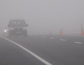 Aksaray-Nevşehir kara yolunda yoğun sis