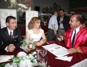 Aksarayda, rekor evlilik