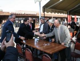 Aykan Erdemir, Mudanyayı ziyaret etti