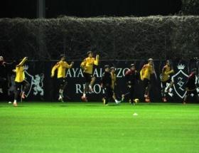 Galatasarayda Antalya kampı devam ediyor