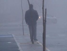 Aksarayda yoğun sis