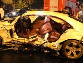İşadamı kazada ağır yaralandı