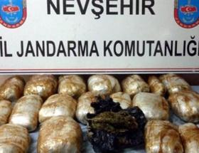 Nevşehirde esrar operasyonu