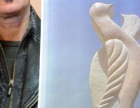 İranlı heykeltıraşı kızdıran taklit heykel
