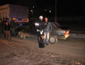 Otomobil TIRa çartı: 1 yaralı