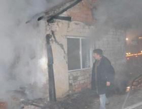 Yalnız yaşadığı evi yandı, kundaklandı dedi