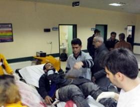 Yaralı Suriyeliler Nizipe getirildi