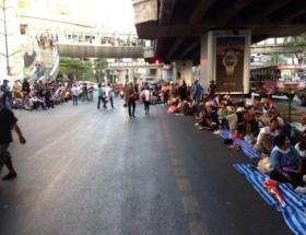 Bangkoku Kapatma eylemi başladı