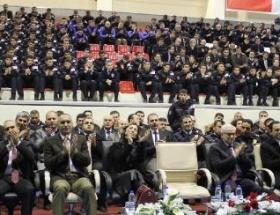 Erzurum Emniyet Müdürüne veda töreni