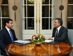 Cumhurbaşkanı Gül, Demirtaşı kabul etti