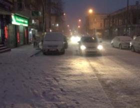 Ardahanda kar yağışı tekrar başladı