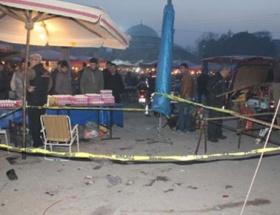 Halk pazarında pompalı dehşet: 5 yaralı