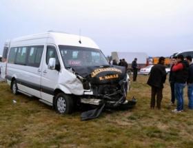 Kahramanmaraşta trafik kazası: 6 yaralı