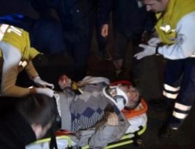 Beyoğlunda kaza: 1 yaralı