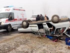Ispartada trafik kazası: 1 yaralı