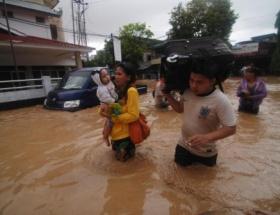 Endonezyada bir sel felaketi daha