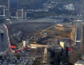 Vodafone Arena Stadında çalışmalar devam ediyor