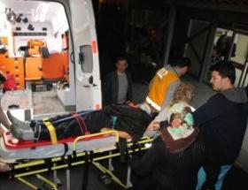 Eşine yardım etmek isterken balkondan düştü