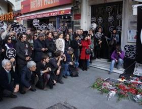 Hrant Dink için yürüdüler