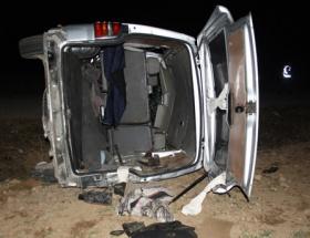 Bingölde trafik kazası: 13 yaralı